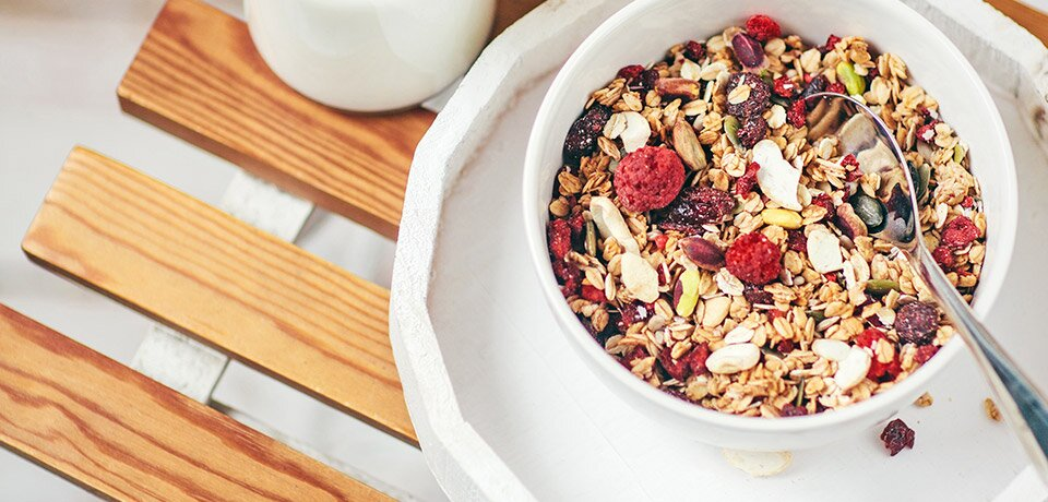 Mix your own individual muesli.